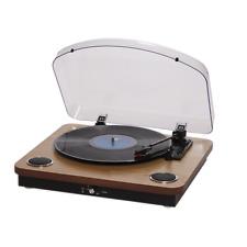 Plattenspieler mit Lautsprechern und USB für Digitalisierung Denver VPL 200 Holz