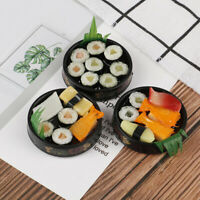 1Pc 1/6 Dollhouse Miniature Janpanese Sushi Rice Roll For Dolls Pretend FoodPYW