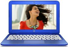 HP Stream 11.6in. LED Light Laptop 2.16GHz 32GB WebCam WiFi HDMI Windows 10 Blue