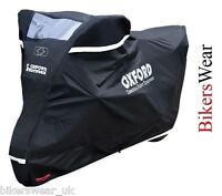 Oxford Stormex Ultimate Weather Motorcycle Bike Rain Outdoor Cover Small S