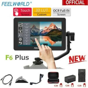 """Feelworld F6 Plus 5.5"""" IPS Touch Screen On Camera Field Monitor for DSLR Gimbal"""