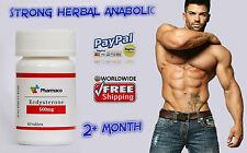Forte a base di erbe Anabolizzanti Testosterone Booster max-pompa fitness Ecdysterone 500