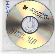 (EH532) Paul Harris, Find Yourself a Friend - DJ CD