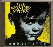THE WONDER STUFF Ubearable 4 TRACK CD single