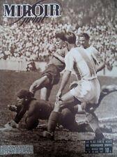FOOTBALL 1/2 FINALE COUPE R.C. STRASBOURG A.S. CHARENTES N 49 MIROIR SPRINT 1947
