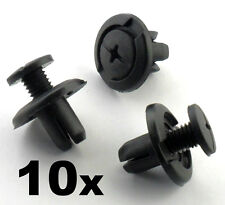 10x 8mm Screw Fit Honda Wheel Arch Lining / Splashguard & Bumper Clips Scrivets