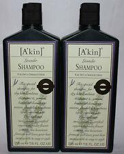 Lot of 2 A'Kin Lavender Shampoo For Dry, Damaged Hair 7.6 oz Each
