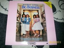 Big Business Laserdisc LD Bette Midler Free Ship $30 Orders