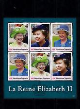 Togo 2013 MNH Reign Elizabeth II 6v Sheetlet Queen Royalty La Reine Togolaise