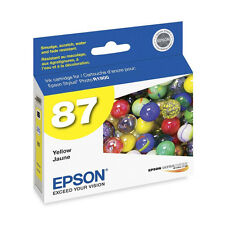 Genuine Epson R1900 yellow printer ink cartridge 87 1900 T087 T0874 T087420