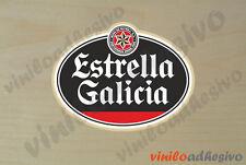 PEGATINA STICKER VINILO Estrella Galicia autocollant aufkleber adesivi
