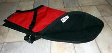 New listing Michael J. Fashions Dog Coat, Red, Black Fleece Lining, Large?