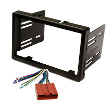 Radio Replacement Dash Mounting Kit 2-DIN w/ 24-pin Harness for Mazda Tribute