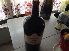 W. J. Grahams Tawny port empty display wine bottle