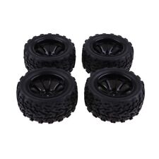 4pcs 103mm Diameter Rubber Tire Tyre 1.9inch Wheel for 1/10 RC Crawler Car A
