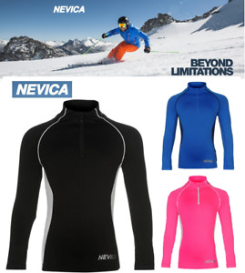 NEVICA Skiing Thermal Mid/Base Layer Top Long Sleeve Kids Boys Girls 2 3 4 5 6