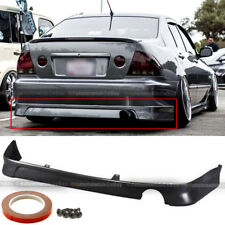 Fit 01-05 IS300 XE10 TR-D Style PU Urethane Rear Lower Bumper Chin Lip Body Kit