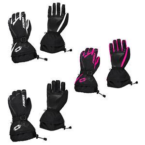 Womens Castle X LEGACY Snowmobile Gloves Gauntlet Winter Snow Waterproof