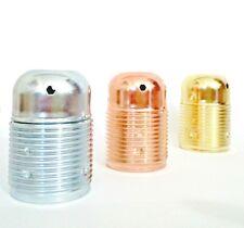 Portalampada porta lampade in metallo filettato attacco grande E27 stile vintage