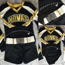 Real Cheerleading Uniform Novas Allstar Youth Med
