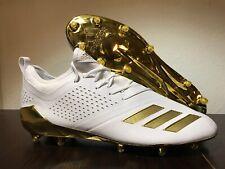 Adidas Adizero 5-Star 7.0 Football Cleats Adimoji Size 15 Gold White CG6326 New