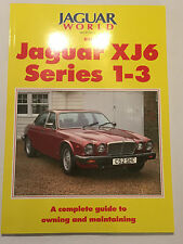 Jaguar World Monthly on Jaguar XJ6 Series 1 2 3 COMPLETE OWN & MAINTAIN MANUAL