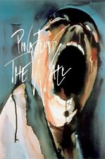 PINK FLOYD ~ THE WALL SCREAMING FACE ~ 24x34 MUSIC POSTER ~ Movie Gerald Scarfe