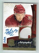 10-11 UD The Cup  Brett MacLean  /39  Gold Spectrum  Auto  Patch  Rookie