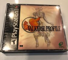 Valkyrie Profile 1 Enix RPG Sony Playstation 1 PS1 EX+NM condition No Manual