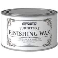Rust-Oleum Chalky Furniture Wax Shabby Chic 400ml White Liming Wax