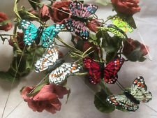 Authentic Style Feather Butterflies - Set of 6 - 4.5cm Wingspan