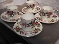 Wedgwood Porcelain & China Saucer Hathaway Rose