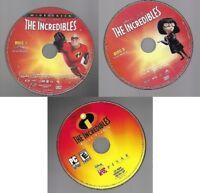 The Incredibles Lot DVD, Widescreen 2-Disc Set & Print Studio Software No Case