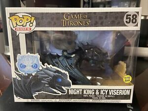 Funko Pop! Rides: Game Of Thrones - Night King & Icy Viserion #58