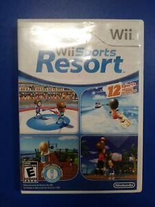 Wii Sports Resort Nintendo Wii Complete in Box CIB