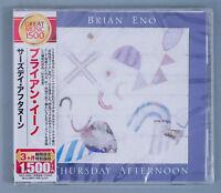 Brian Eno – Thursday Afternoon Japan Promo CD w/ Obi TOCP-54285 2011 Roger Eno