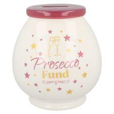LP291355- Lesser & Pavey Prosecco Fund Ceramic Money Box- Great Price!