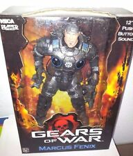 "NECA GEARS OF WAR MARCUS FENIX 12"" SOUND PLAYER SELECT VIDEOGAME STATUE - FIGURE"