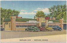 Kentland Cafe in Kentland IN Postcard