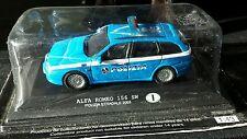Nuevo Ray, Alfa Romeo 156 SW POLIZIA STRADALE policía 2003, 1:43