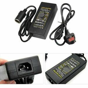 5A 240V Mains Plug to 12V DC Adapter Car Cigarette Lighter Socket Power Charger