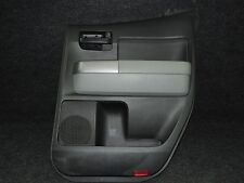 2007-2013 TOYOTA TUNDRA DOUBLECAB OEM BLACK RIGHT HAND REAR DOOR CARD PANEL