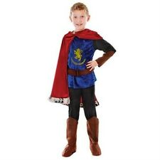 Childrens Medieval Knight Prince Book Week Fancy Dress Costume 6 - 9  P7262