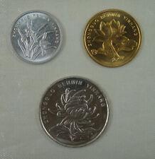 China Coin 1 jiao 5 Jiao and 1 Yuan 2002