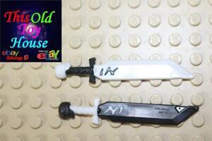 Lego 1x polybag gun weapon sabre sword sword skull white//white 23984 new