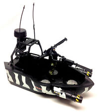 GI JOE Action Force STEALTH GUNBOAT VEHICLE  toy for 3.75 inch figures NICE