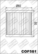 COF581 Filtro De Aceite CHAMPION HyosungGV650 SE EFI6502010 2011
