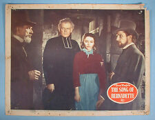 Song Of Bernadette 8 Orig. Lobby Cards Academy Award Jennifer Jones 1943 & R1954