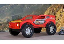 Autobett Jeep Kinderbett 90x200cm bett Spielbett rot Glanz