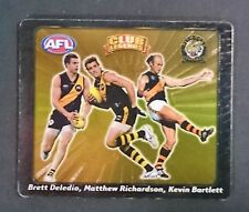 2008 AFL SMITHS TAZO LEGENDS DELEDIO, RICHARDSON & BARTLETT RICHMOND TIGERS